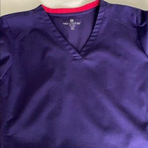 Med Couture Grape Scrubs